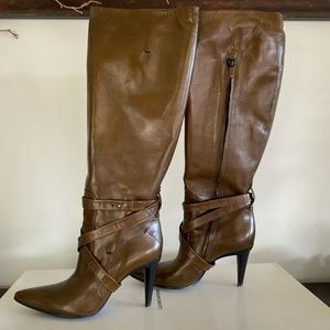 CoSTUME NATIONAL SOFT CALF LEATHER BOOTS SZ38